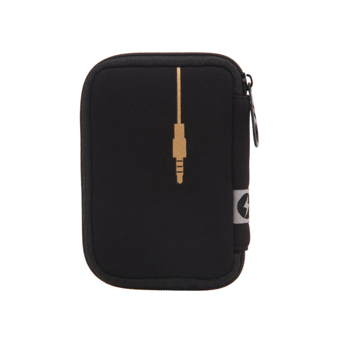 PLUG IN METALLIC EAR BUD CASE
