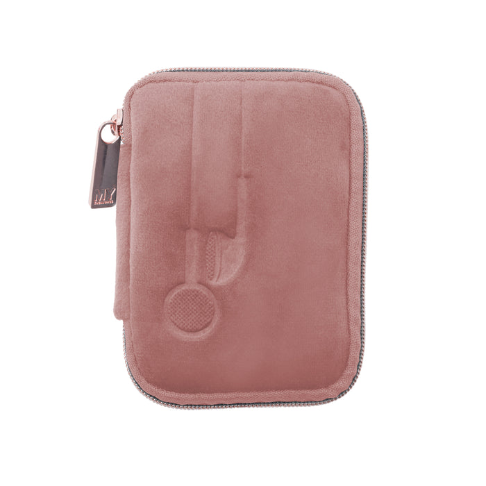 EAR BUD CASE - VIXEN ROSE (velour finish)