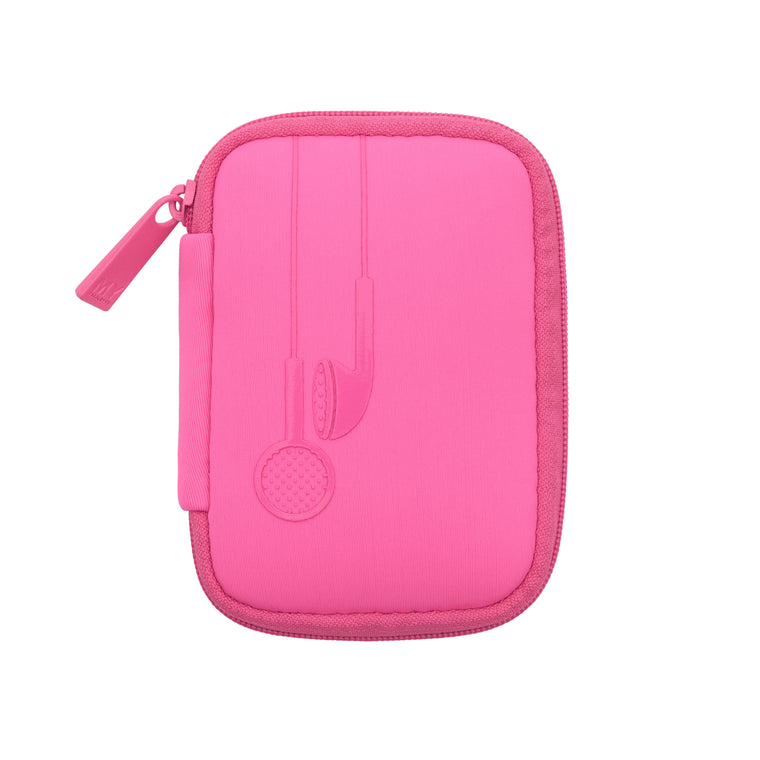 EAR BUD CASE - SIGNATURE PINK