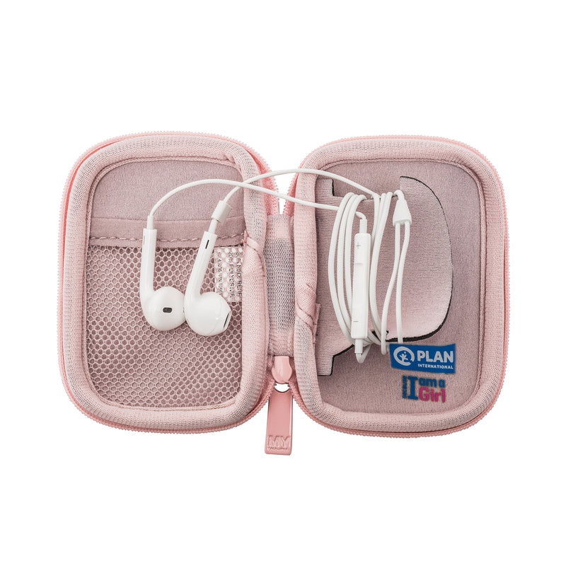 EAR BUD CASE - BECAUSE I AM A GIRL