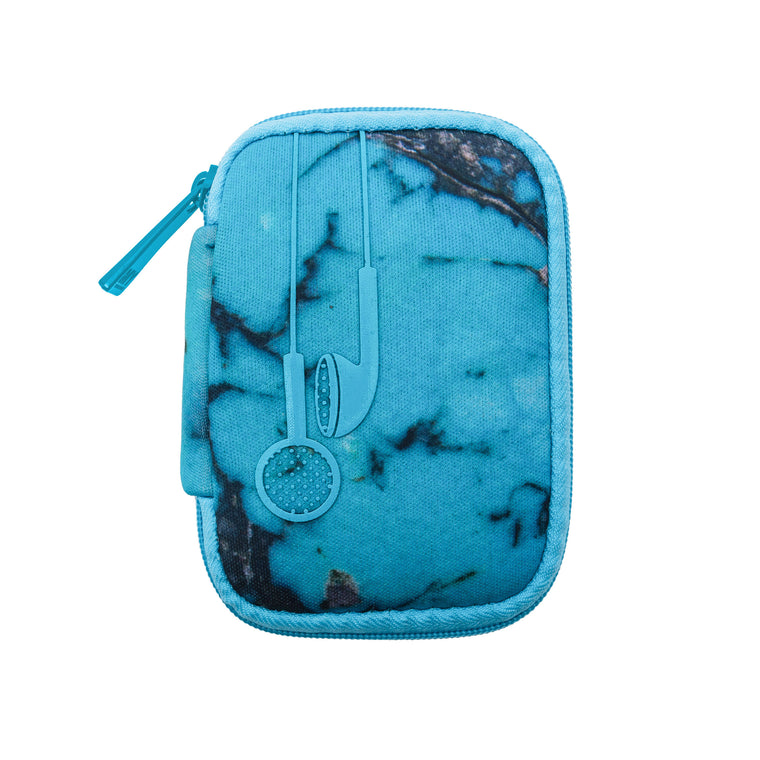EAR BUD CASE - TURQS & CAICOS