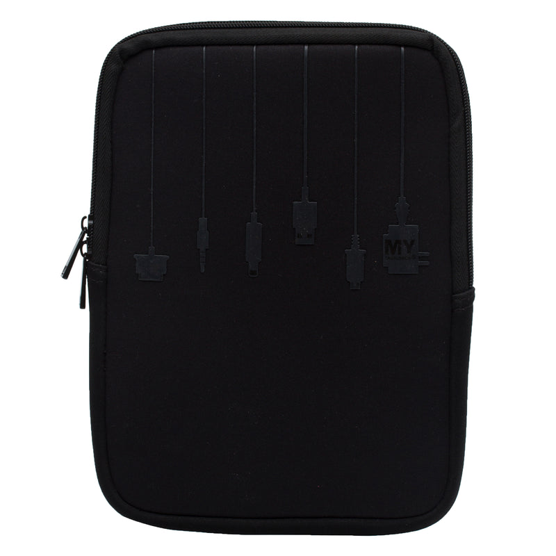 2 in 1 Tablet Sleeve and Stand - PLUG IN SILICONE (Medium)