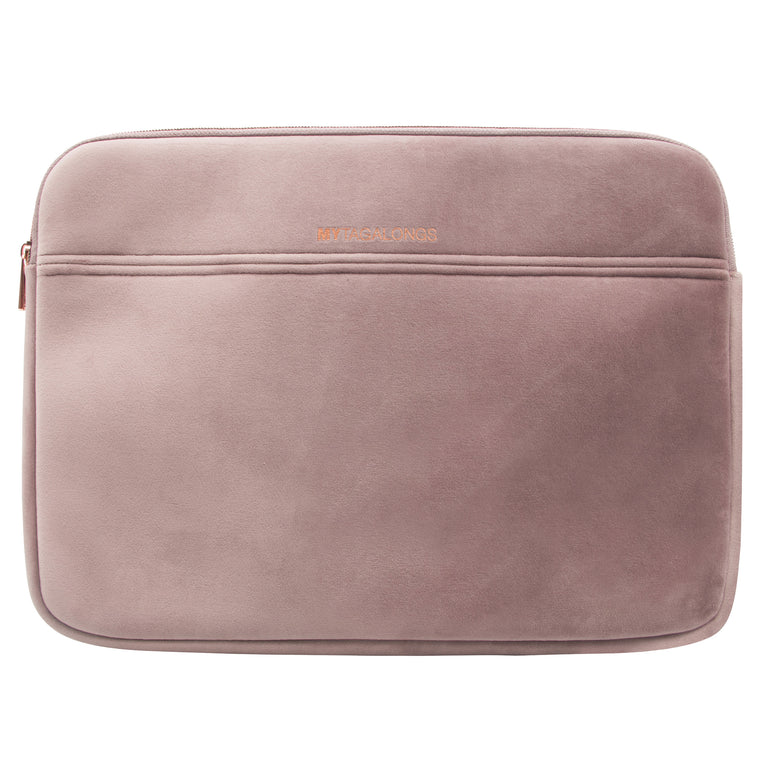 LAPTOP SLEEVE - VIXEN DUSTY LILAC (velvet finish)