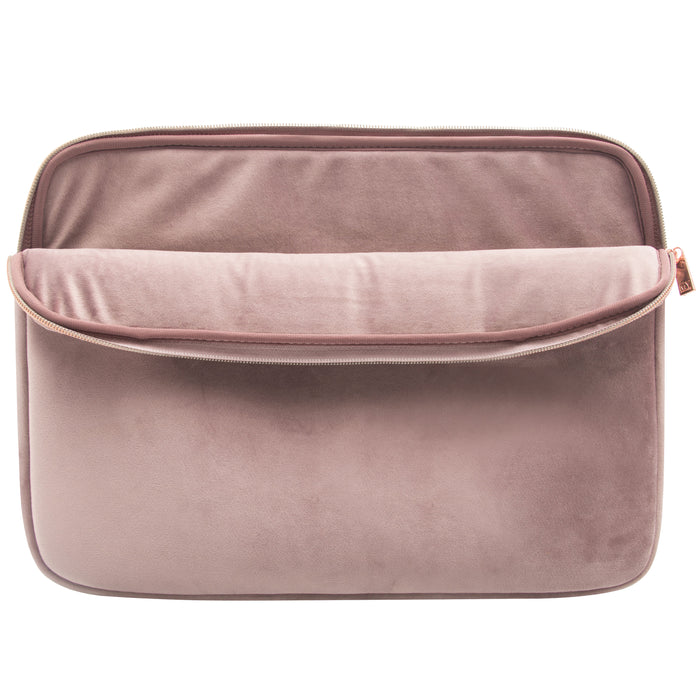LAPTOP SLEEVE - VIXEN DUSTY LILAC (velour finish)