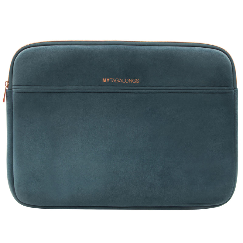 LAPTOP SLEEVE - VIXEN INDIGO (velour finish)