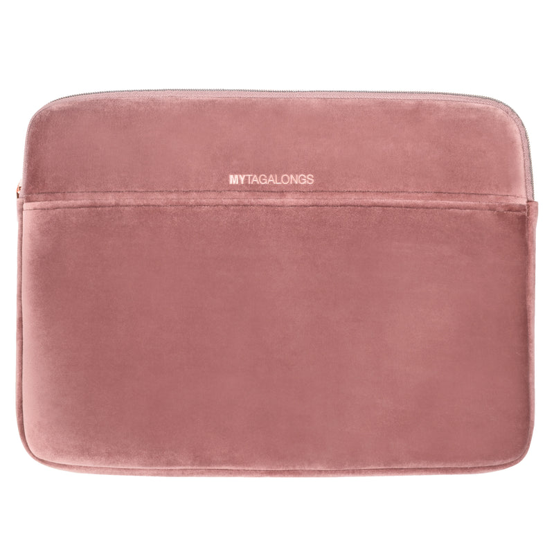 LAPTOP SLEEVE - VIXEN ROSE (velour finish)