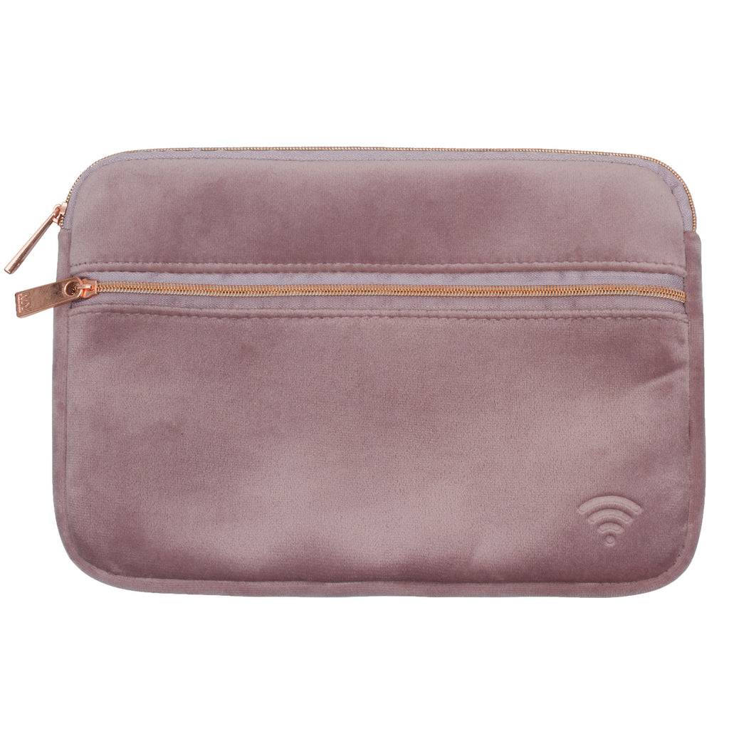 TECH ORGANIZING POUCH - VIXEN DUSTY LILAC (velvet finish)