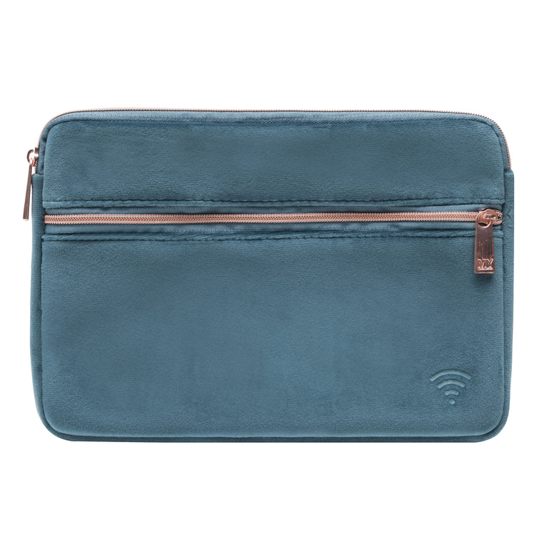 TECH ORGANIZING POUCH - VIXEN INDIGO (velour finish)