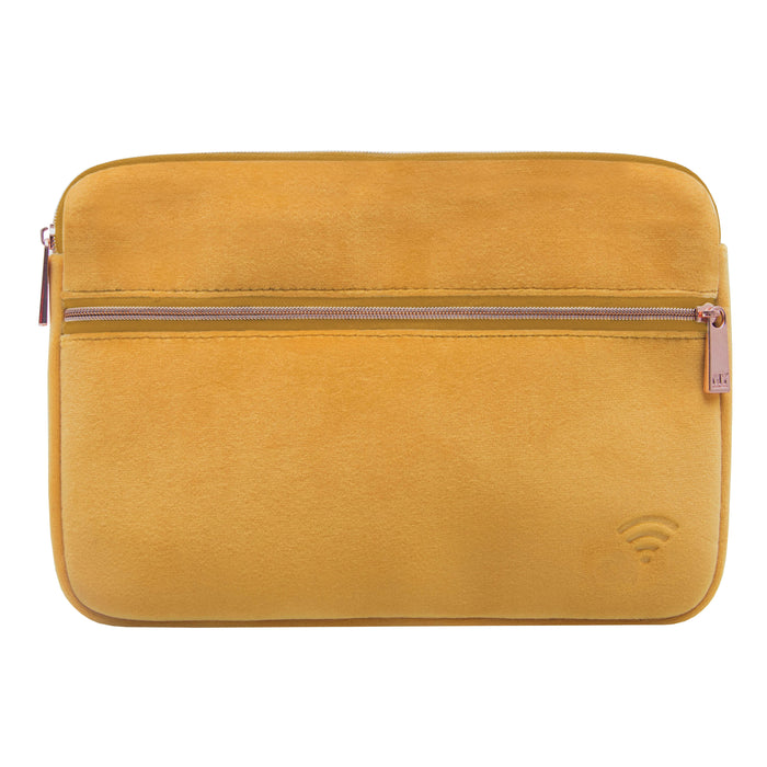 TECH ORGANIZING POUCH - VIXEN MARIGOLD (velour finish)