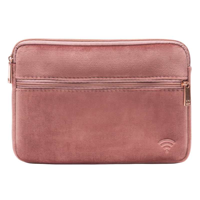 TECH ORGANIZING POUCH - VIXEN ROSE (velour finish)