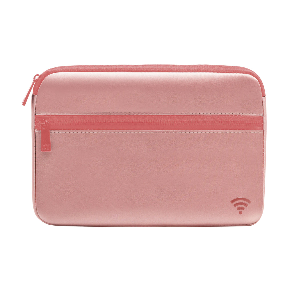 TECH ORGANIZING POUCH - CHIARA BLUSH (satin finish)