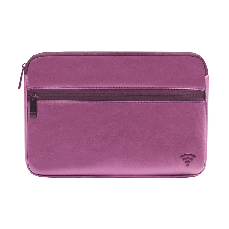 TECH ORGANIZING POUCH - CHIARA LILAC (satin finish)