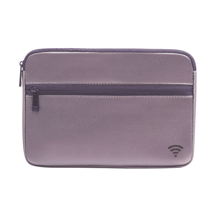TECH ORGANIZING POUCH - CHIARA PEWTER (satin finish)