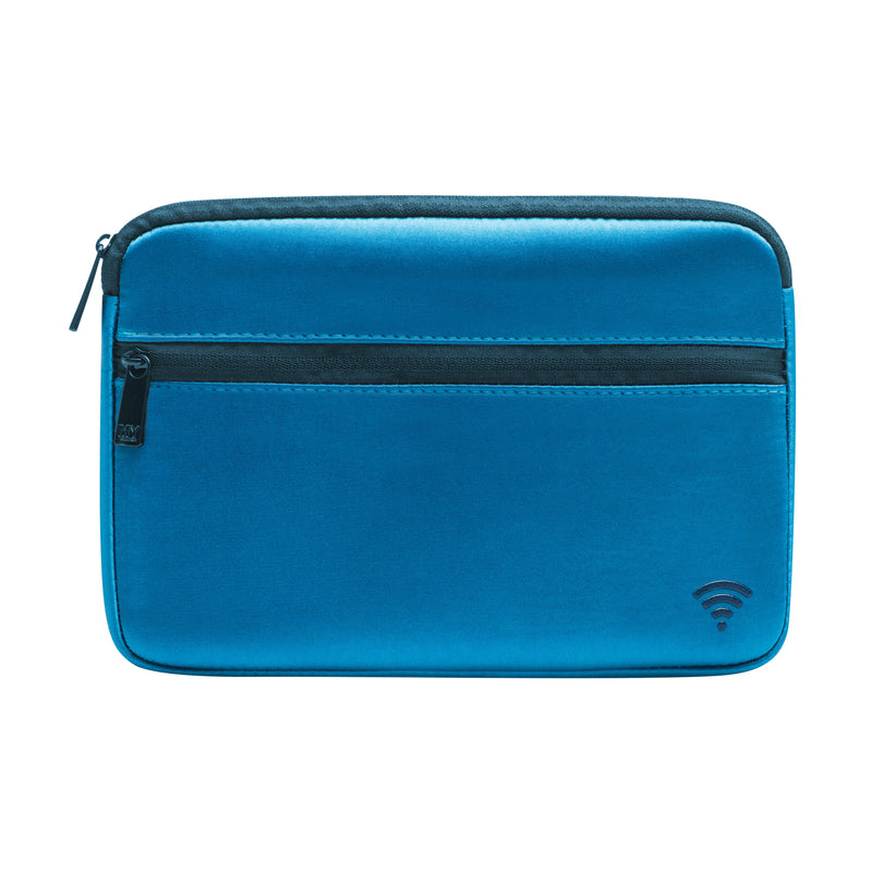 TECH ORGANIZING POUCH - CHIARA TEAL (satin finish)