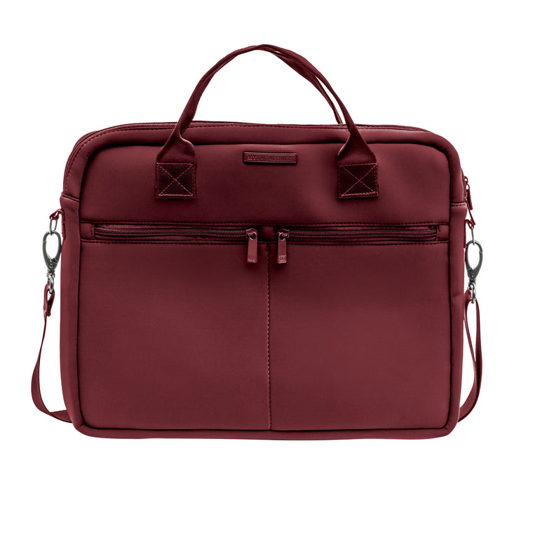 LAPTOP BAG - EVERLEIGH MERLOT