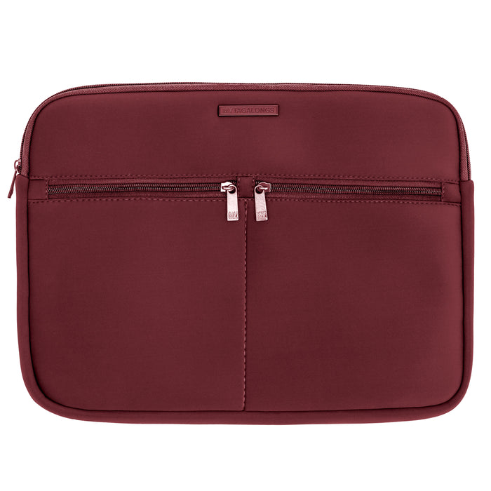 LAPTOP SLEEVE - EVERLEIGH MERLOT