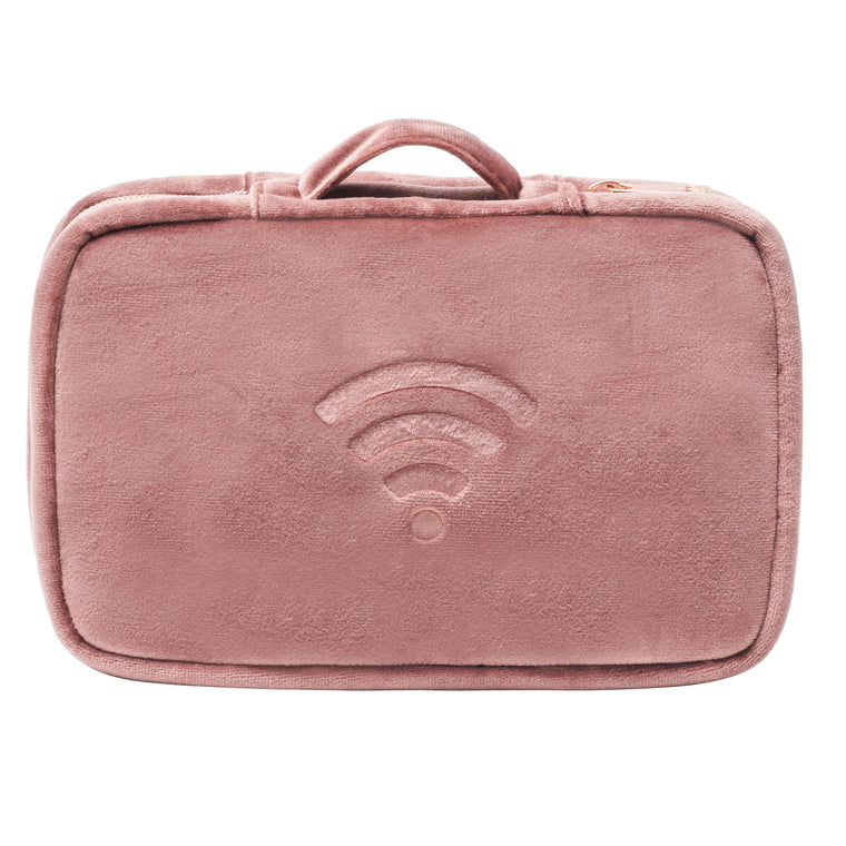 NETWORK CASE - VIXEN ROSE (velour finish)