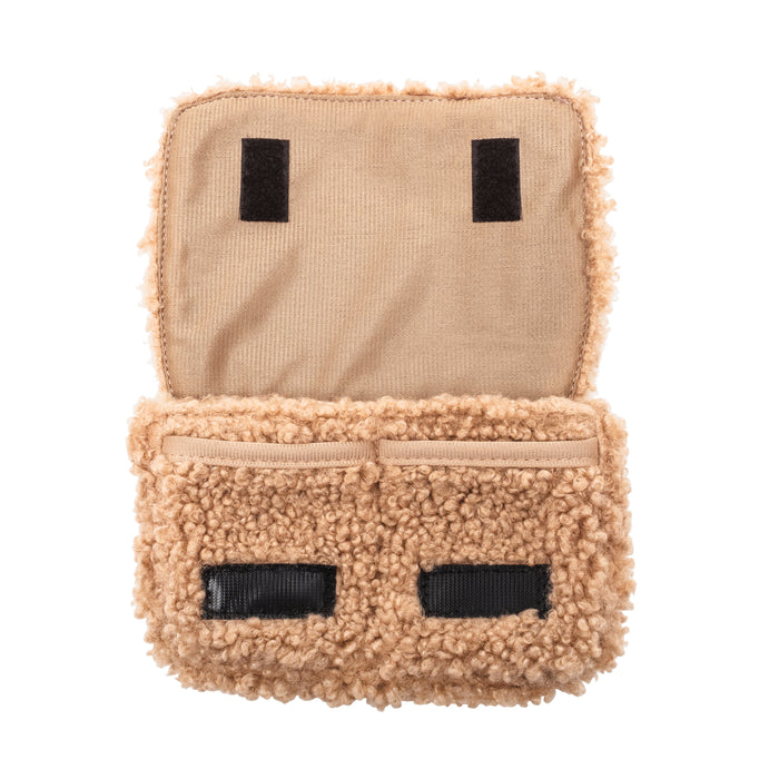 CHARGER CASE - HARLOW FAWN (teddy bear fur)