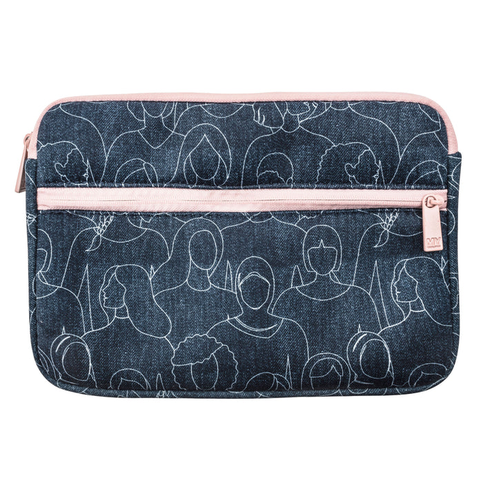 TECH ORGANIZING POUCH - BECAUSE I AM A GIRL