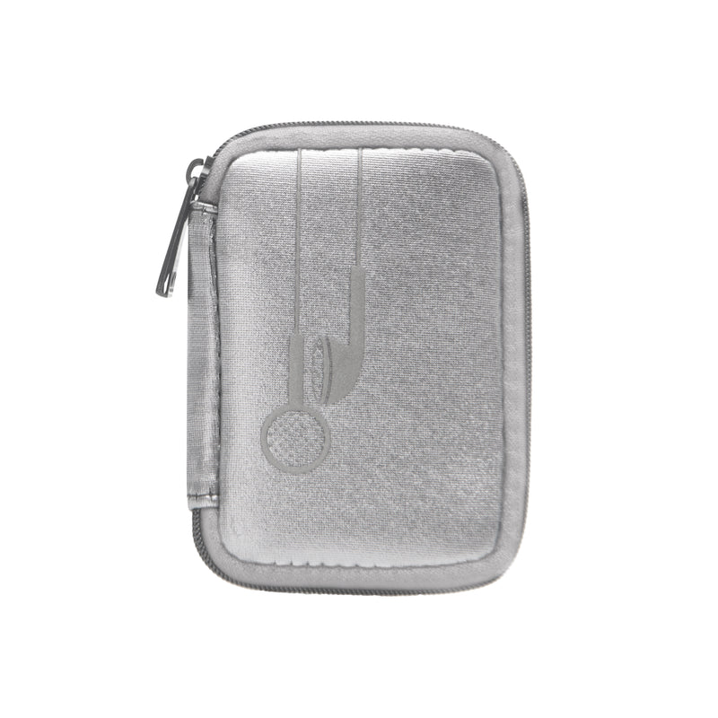 CHARGER CASE & EAR BUD CASE - SILVER (BOXED SET)