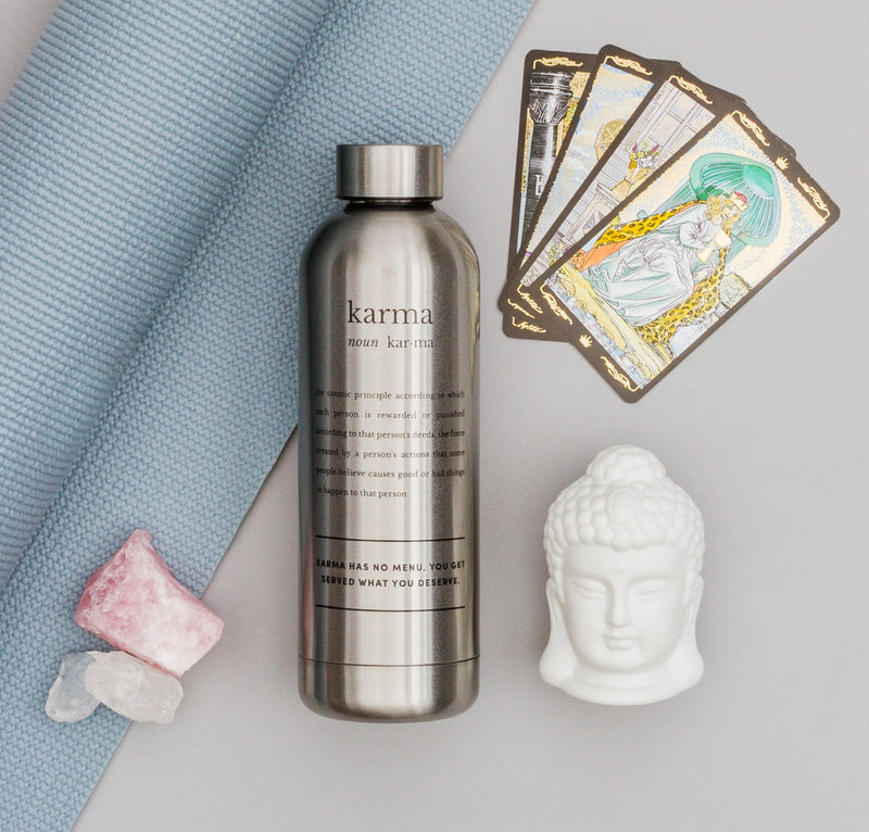 WATER BOTTLE - DEFINITIONS KARMA/SILVER