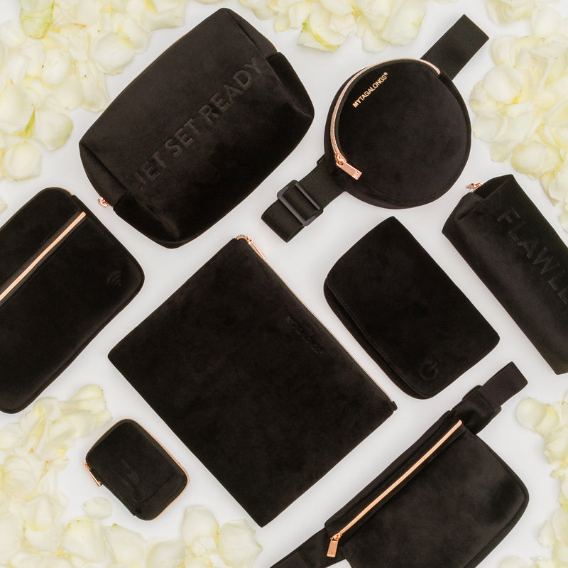 CHARGER CASE - VIXEN BLACK (velour finish)