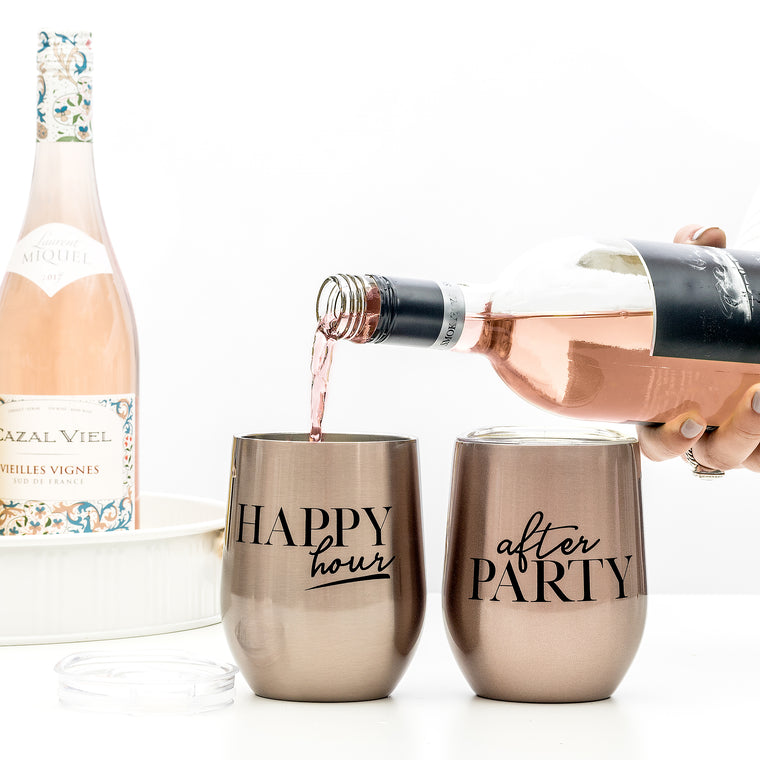 WINE CUP - AFTER PARTY ROSE GOLD