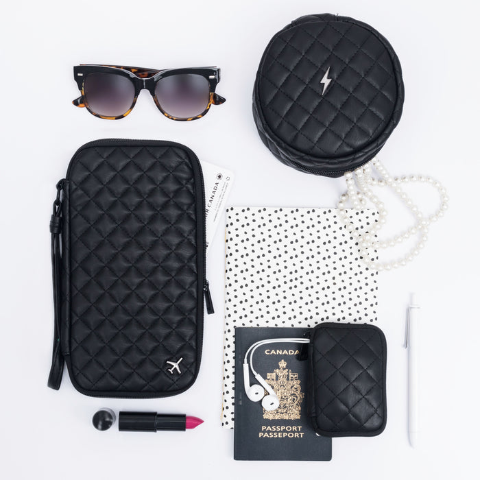 TRAVEL DOCUMENT CADDY - LOLA