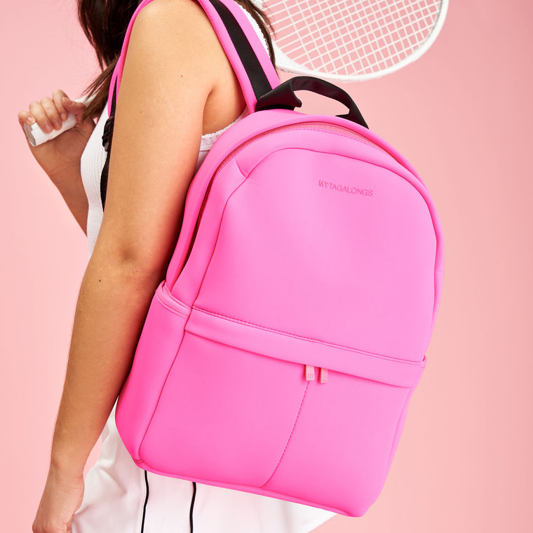 BACKPACK - SIGNATURE PINK