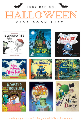 KIDS HALLOWEEN BOOK LIST