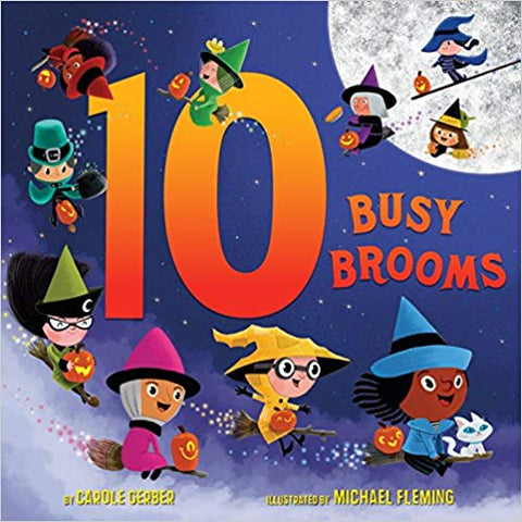 10 Busy brooms Book