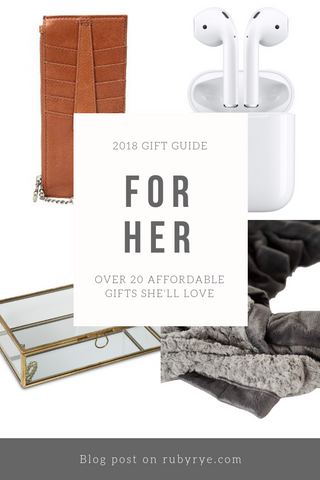 2018 Gift Guide for Her