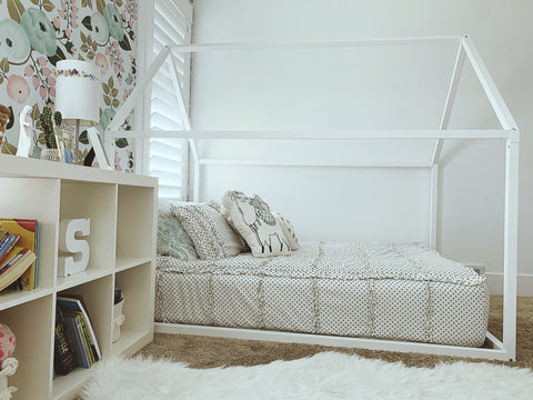 House Bed Frame From Ruby Rye Co.