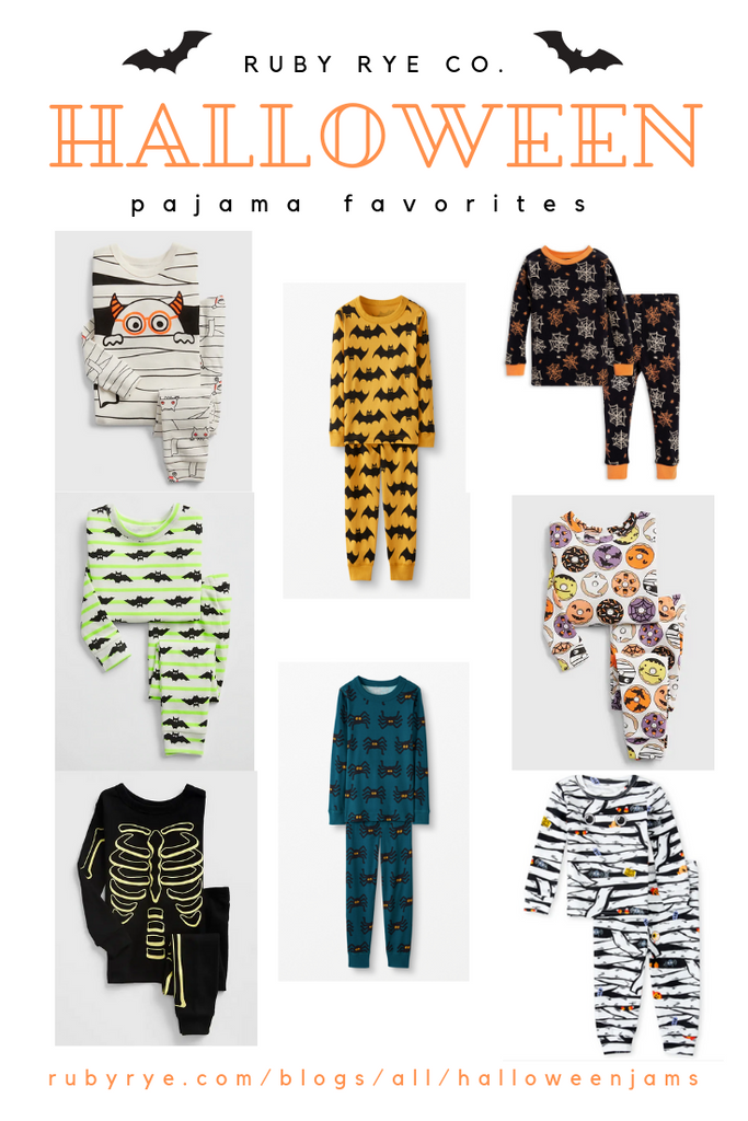 halloween kids pajamas