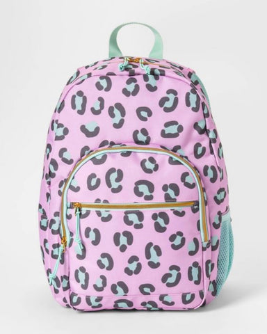 Leopard backpack from Cat and Jack Target