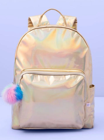 Girls Gold Iridescent Backpack from Target