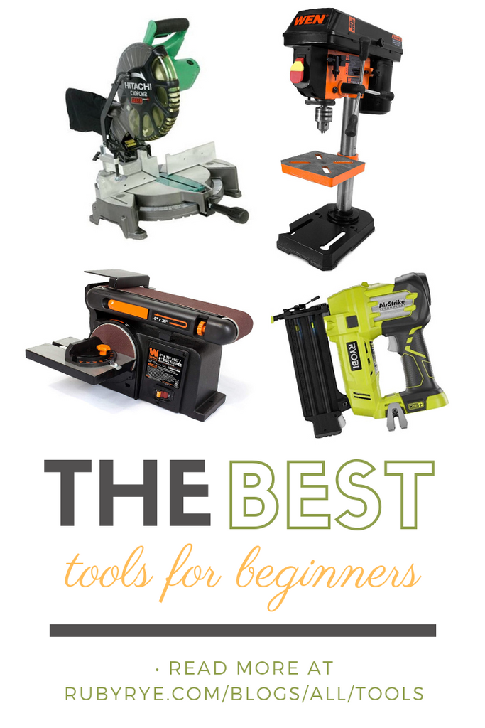 The best tools for beginners