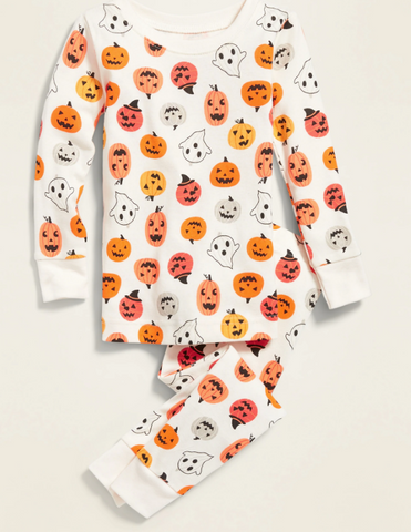 Old Navy Pumpkin Jammies