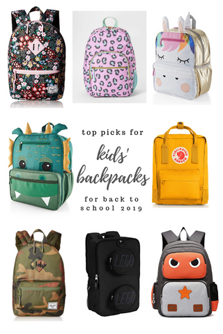 Cute Kids backpacks for back to school 2019