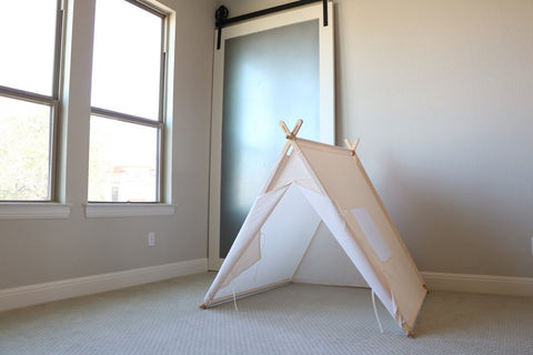 Cream A-Frame Tent from Tnees Tpees