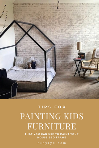 how to paint kids furniture