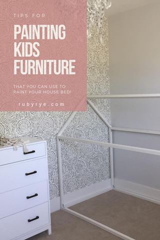 Tips for Painting kids furniture