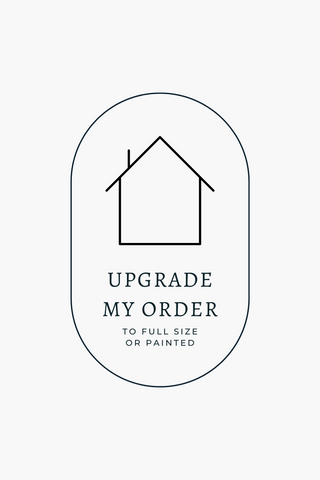 UPGRADE MY BED ORDER