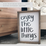 Sign Printables Pack 2 - 16x20