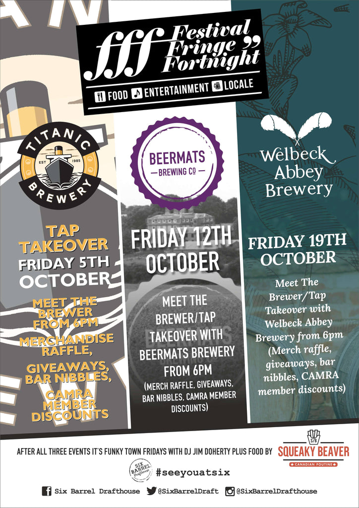 Beermats Brewing Tap Takeover at Six Barrel Drafthouse, Nottingham