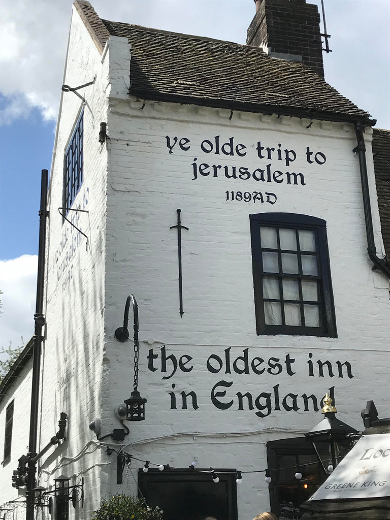 Beermats Brewing beer is on tap at the oldest Inn in England