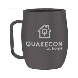 Quakecon @ Home Limited Edition Insulated Barrel Mug
