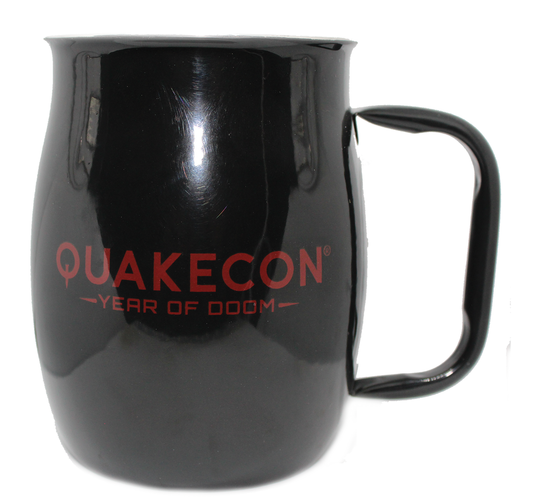 Quakecon 2019 Barrel Mug (Not Insulated)