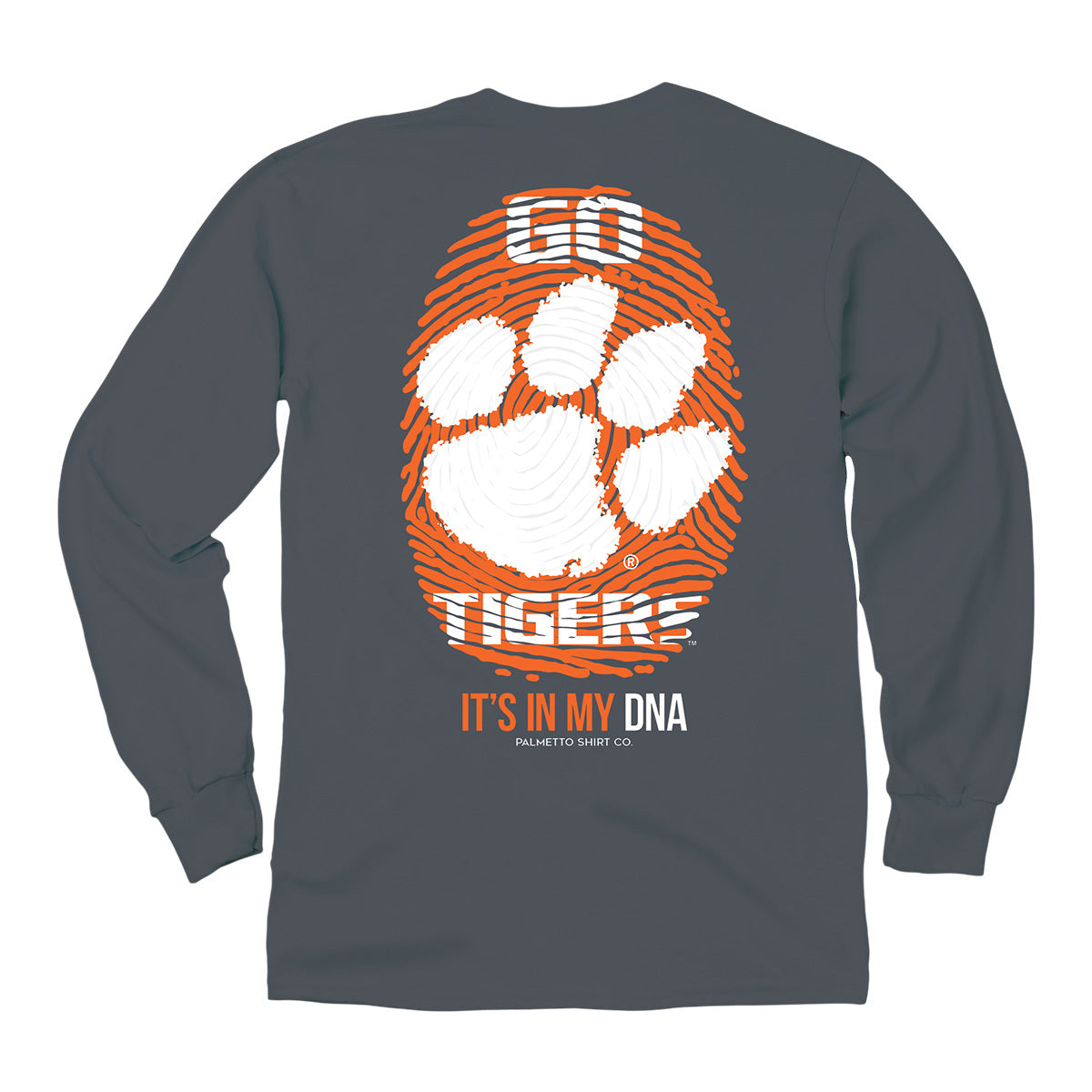 Clemson Thumprint Long Sleeves