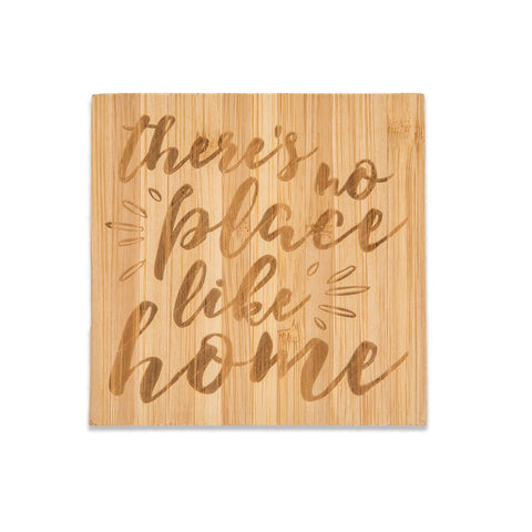 Bamboo Coasters, There's No Place Like Home